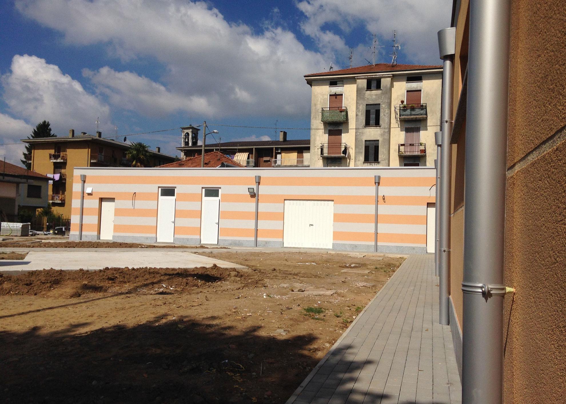 Ampliamento Oratorio Solbiate Arno